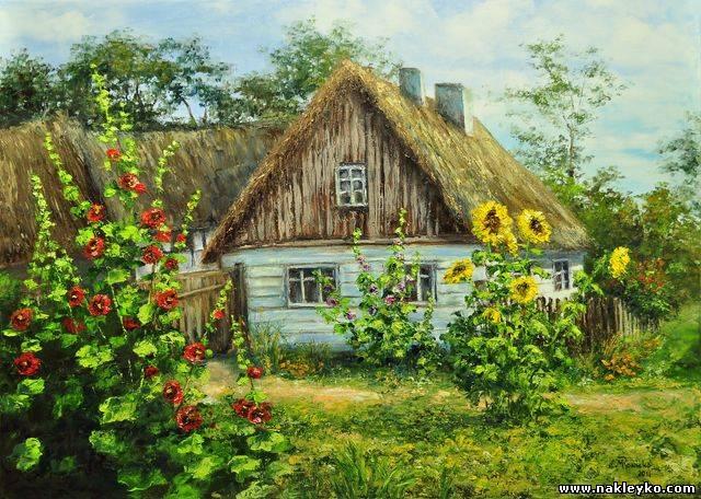 украинская хата фото