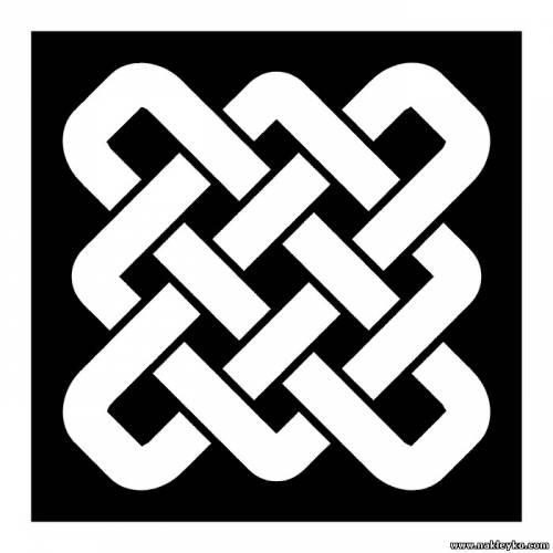 круговая плетенка рисунок